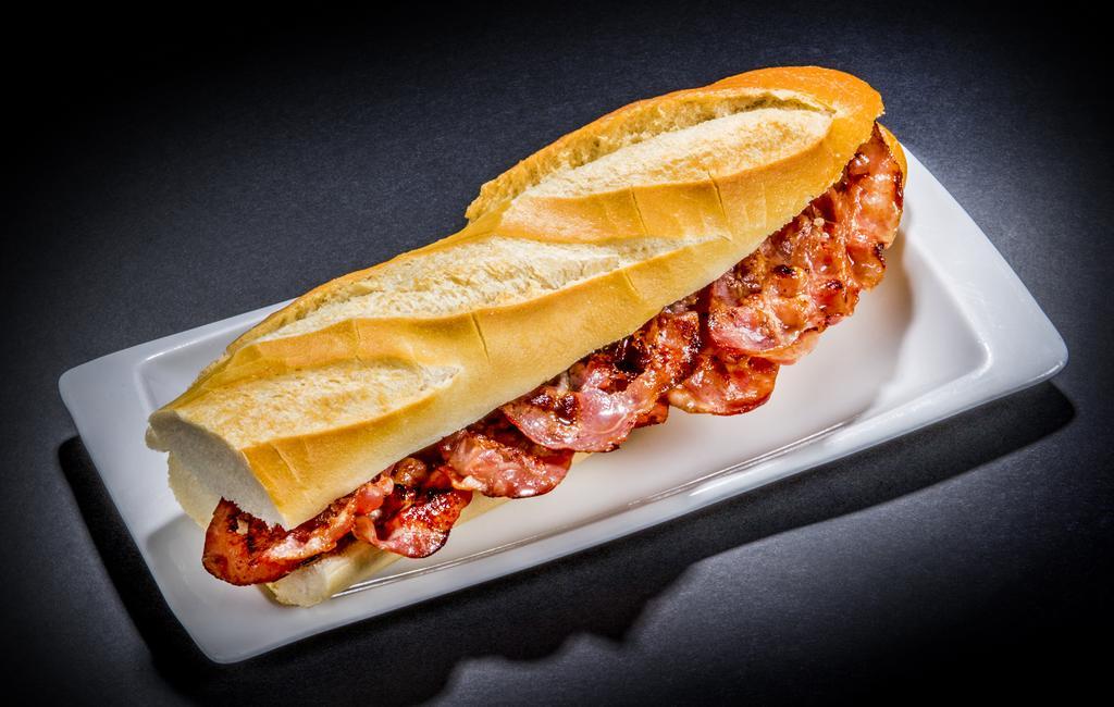bocadillo de bacon