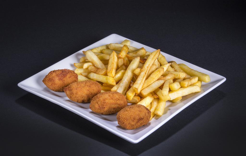 croquetas más patatas